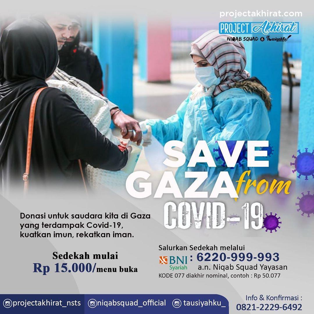 Program Sedekah Untuk Gaza Palestina Dari Virus Covid-19