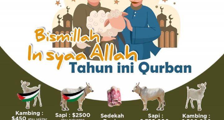 Sedekah Qurban Idul Adha Untuk Yatim & Dhuafa Indonesia & Palestina